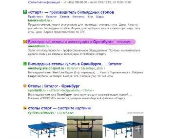 Продвижение сайта orenbilliard.ru (2)