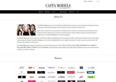 Создание сайта castamodels.com (7)