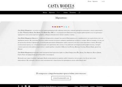 Создание сайта castamodels.com (9)
