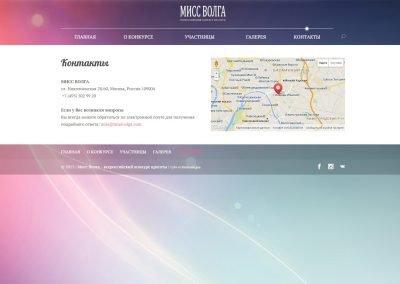 Создание сайта MissVolga.com (11)