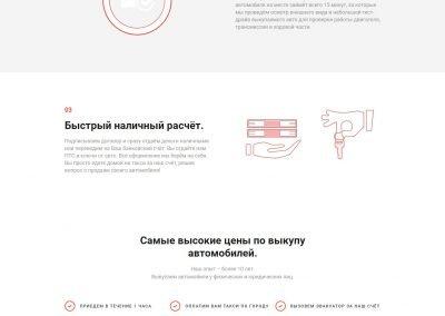 Создание сайта Autolot56.ru - срочный выкуп авто в Оренбурге (3)